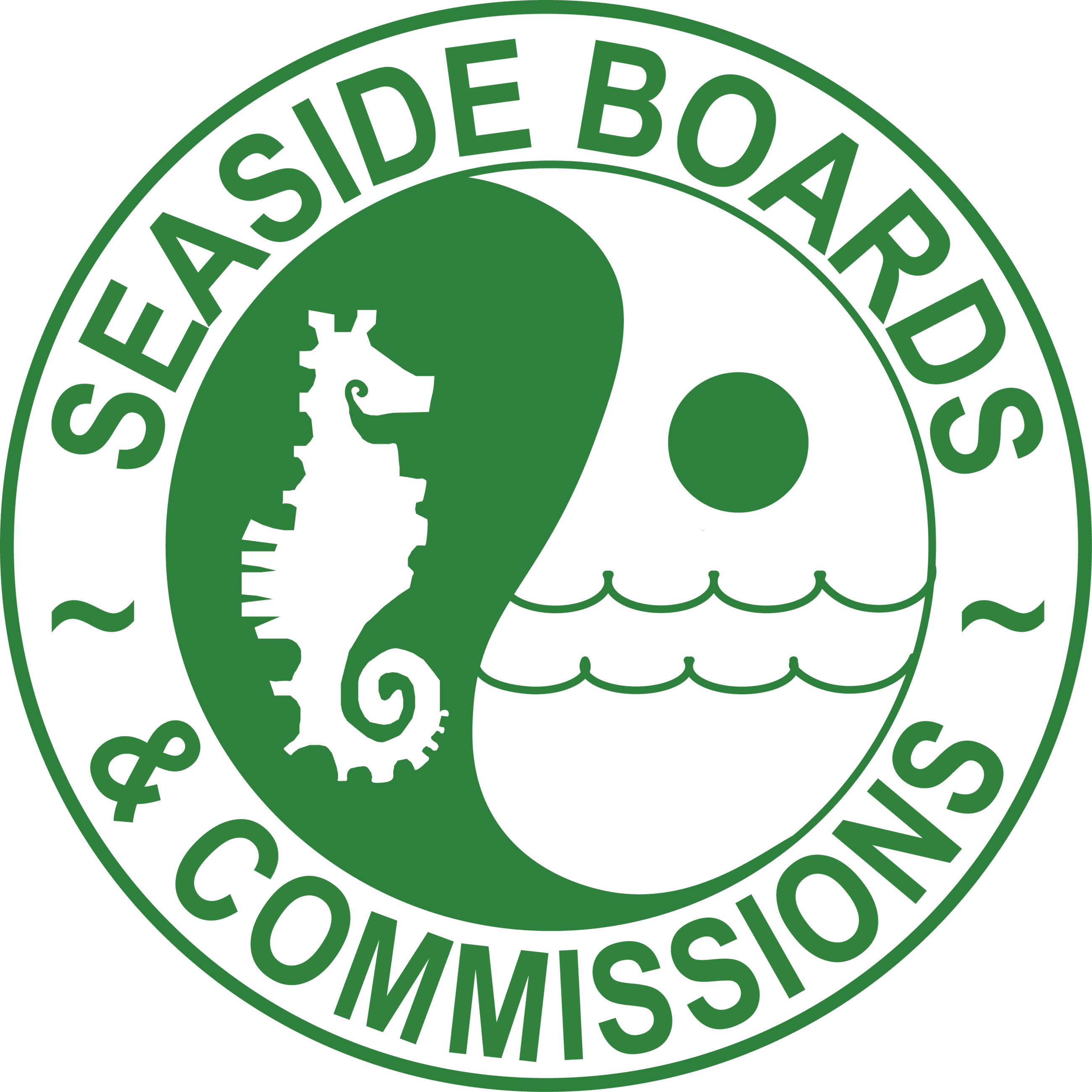 Green Boards and Commissions Logo