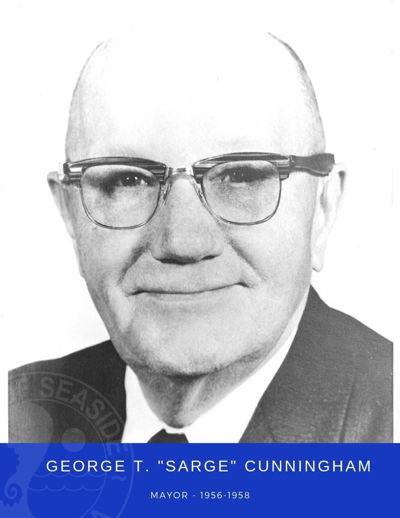 Photo of Mayor George Cunningham