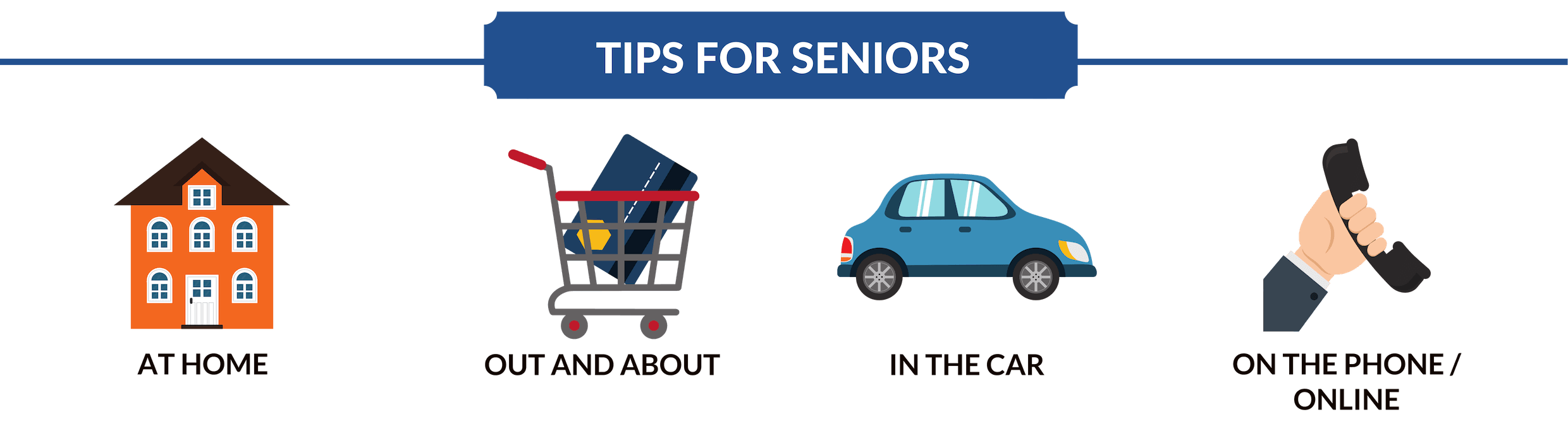Banner for Senior Safety Tips